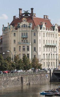 Goethe institut in Prague, Czechia #artnouveau #Prague #Czechia #Tschechien