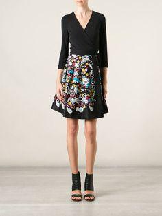 Wrap Dress DVF Diane von Furstenberg Via Flores Multimarcas