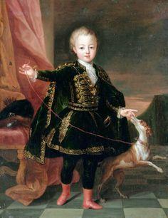 1710 Pierre Gobert (1662–1744) Portrait of Léopold Clément de Lorraine, Hereditary Prince of Lorraine (1707-1723)