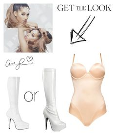 """""""Ariana Grande Break Free Inspired Outfits"""" by buterasoutfits ❤ liked on Polyvore featuring Ultimo, Bordello and Pleaser"""