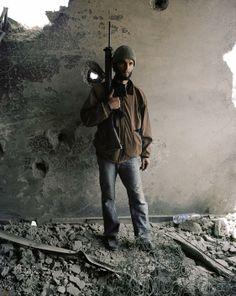 Tim Hetherington's last images. Libya, April 20, 2011.