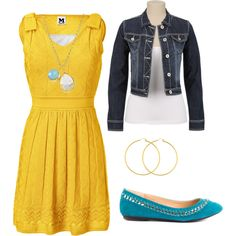 Parent Teacher Conference Outfit by real-housewife-of-tazewell, via Polyvore