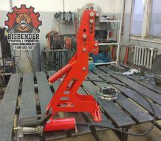BigBender MK2 hydraulic tubing bender | Гидравлический трубогиб BigBender Mk2