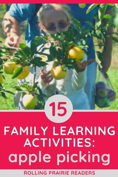 If you are looking for fun family activities this fall, why not take your children to an apple orchard? This post includes 15 learning ideas and tips for apple picking with kids. Apple Activities, Family Activities, Learning Activities, Toddler Activities, Fall Family, Family Life, Things To Do At Home, Apple Orchard, Blog Love