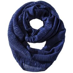 Mossimo Supply Co Textured Infinity Scarf - Navy (20 CAD) ❤ liked on Polyvore featuring accessories, scarves, navy infinity scarf, tube scarf, navy shawl, loop scarves and navy blue scarves