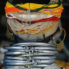 Wednesday Obsession: #Beads#Art#Jewelry#Inspiration#Tribalpieces#AfricanJewelry