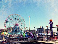 Coney Island Beach and Boardwalk - http://bestofbrooklyn.co