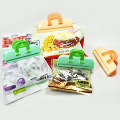 Cheap Hangers & Racks on Sale at Bargain Price, Buy Quality clip color, clip black, clip light from China clip color Suppliers at Aliexpress.com:1,Product:Food Bag Sealing Clip 2,Material:Other 3,Product:food bag sealing clip 4,Color:Army Green, Sky Blue 5,