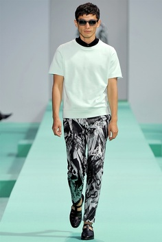 Daisuke Ueda for Paul Smith Spring/Summer 2013 #Fashion #Style #Model #Menswear