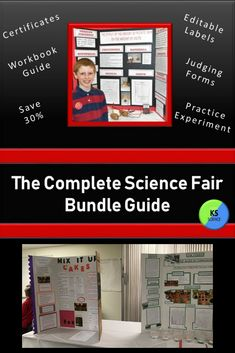 Plan your science fair from start to finish with this complete guide. Includes investigations for an elementary workshop. Kindergarten through fifth grade science fair workbook provided. Just open, type, and print your own labels for the display board from the template. Judging forms provided. At the end of the fair reward students with the colorful certificates.