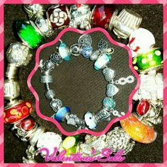 Pandora bracelets Only worn once each.. valentine's day sale thru valentine's day Pandora Jewelry Bracelets