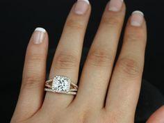 split shank sapphire engagement ring - Google Search