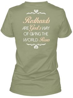Redheads Are God's Roses LIMITED EDITION