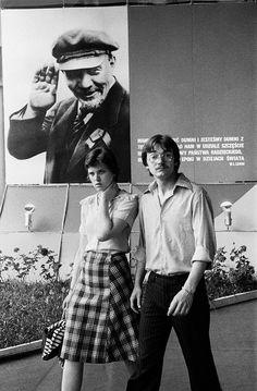Fot. Marian Schmidt  Międzynarodowe Targi Poznańskie, pawilon ZSRR, 1977 rok.