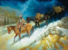 Utah's Brent Flory has an intimate connection with the West that shows through in his oil paintings.