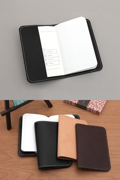 This leather notebook cover provides protection as well as a refined look. Each cover is made in the USA and will keep your pocket-sized notebooks in good condition so they stand the test of time. Word Notebooks, Stationery Companies, Jet Pens, Leather Notebook, Pen And Paper, Made In America, Rustic Style, Handwriting, Edc