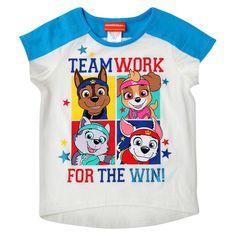 Toddler Girls' Paw Patrol T-Shirt - Eggshell 4T, Toddler Girl's, Beige