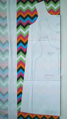 Racer Back T-shirt dress pattern and tutorial