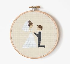 Wedding Cross Stitch pattern Cross Stitch by PatternStitchShop