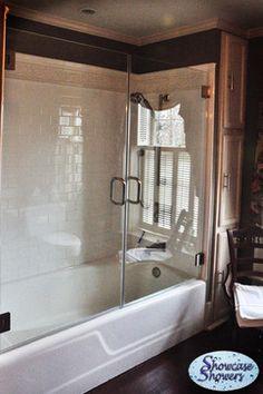 Frameless Bathtub Shower Door Shower Doors Pinterest Shower Doors Fr