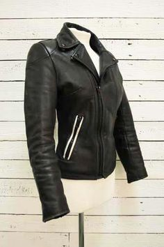 vintage women's biker jacket
