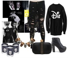 Hallowen outfit  sweatshirt: http://magicboxclothes.pl/?wpsc-product=bluza-unisex-die