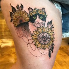 Sunflower Tattoo 61