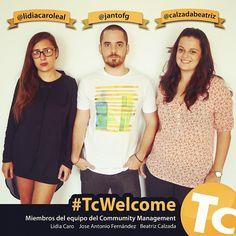 #TcWelcome de Lidia, Janto y Beatriz