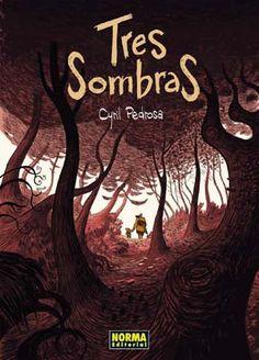 TRES SOMBRAS Book Cover Art, Book Cover Design, Book Design, Book Art, Book Covers, Cyril Pedrosa, Edition Jeunesse, Arte Steampunk, Black And White Artwork