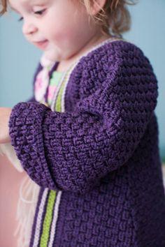 Free Crochet baby Coat Pattern