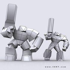 3DRT - Warbots Micromarines
