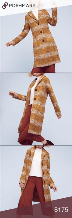 Anthropologie Tabitha Harvest Sweater Coat L Took tags off and wore to and from one place. Just not for me. It's brand new. I ship right away! Anthropologie Jackets & Coats