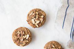Vegan & Gluten-Free Rhubarb Almond Muffins (+ Weekend Links) - The Green Life