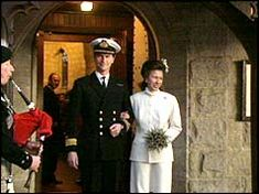 Princess Anne's second wedding in 1992