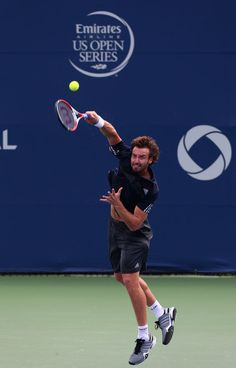 Ernests Gulbis Photos - Rogers Cup - Zimbio
