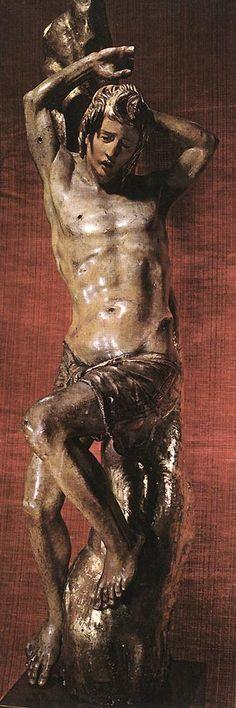 BERRUGUETE, Alonso St Sebastian 1526-32