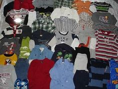 HUGE Lot  BOYS CLOTHES Fall/Winter 18-24 Mos NAME BRANDS! Gymboree   eBay