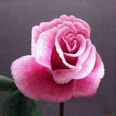 Pink Rose #Beautiful #Handmade #Silk #Embroidery #Art 36104 http://www.queensilkart.com/100-handmade-embroidery-framed-flower-floral-pink-rose-36104 Symbolically, the rose is the embodiment of love, peace, friendship, courage and devotion.