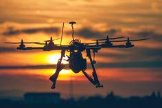 Drone Silhouette at Sunset by Srdjan Vujmilovic on 500px