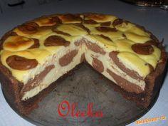 Mramorový dort pro milovníky tvarohu