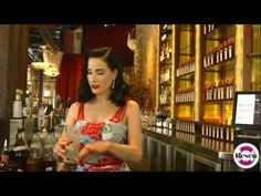 ▶ Dita Von Teese Shows How To Make a Cointreau Fizz Cocktail - YouTube