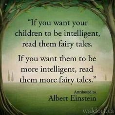 Einstein If you want your children to be intelligent, read them fairy tales. Reading Quotes, Book Quotes, Me Quotes, I Love Books, Good Books, Books To Read, Great Quotes, Inspirational Quotes, E Mc2
