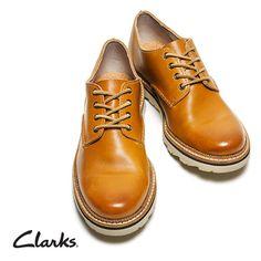 Clarks Frelan Walk, elegante Herrenschuhe mit Profilsohle, 99,95 Euro: http://www.clarks.de/p/26102920 #HW14
