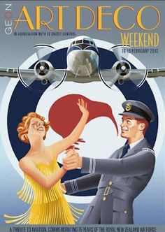 art deco aeroplane posters - Google Search