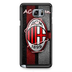 AC Milan TATUM-237 Samsung Phonecase Cover Samsung Galaxy Note 2 Note 3 Note 4 Note 5 Note Edge