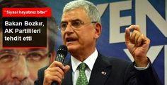 06.Başkent Haber: AB Bakanı Bozkır: Sizi Tehdit Etmiyorum Ama Siyasi...