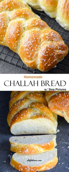 Scrumptious Traditional Braided Challah Bread for Dinner, with step by step pictures! An easy weekend Project!
