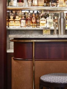 This former butcher shop turned Parisian restaurant has sleek new look - Vogue Living