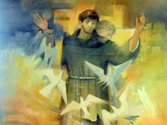 San Francesco d'Assisi, catholicyouthjmjwyd:   Dove è disperazione, che io...