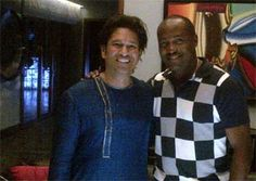 Brian Lara pays surprise visit to Sachin Tendulkar's house